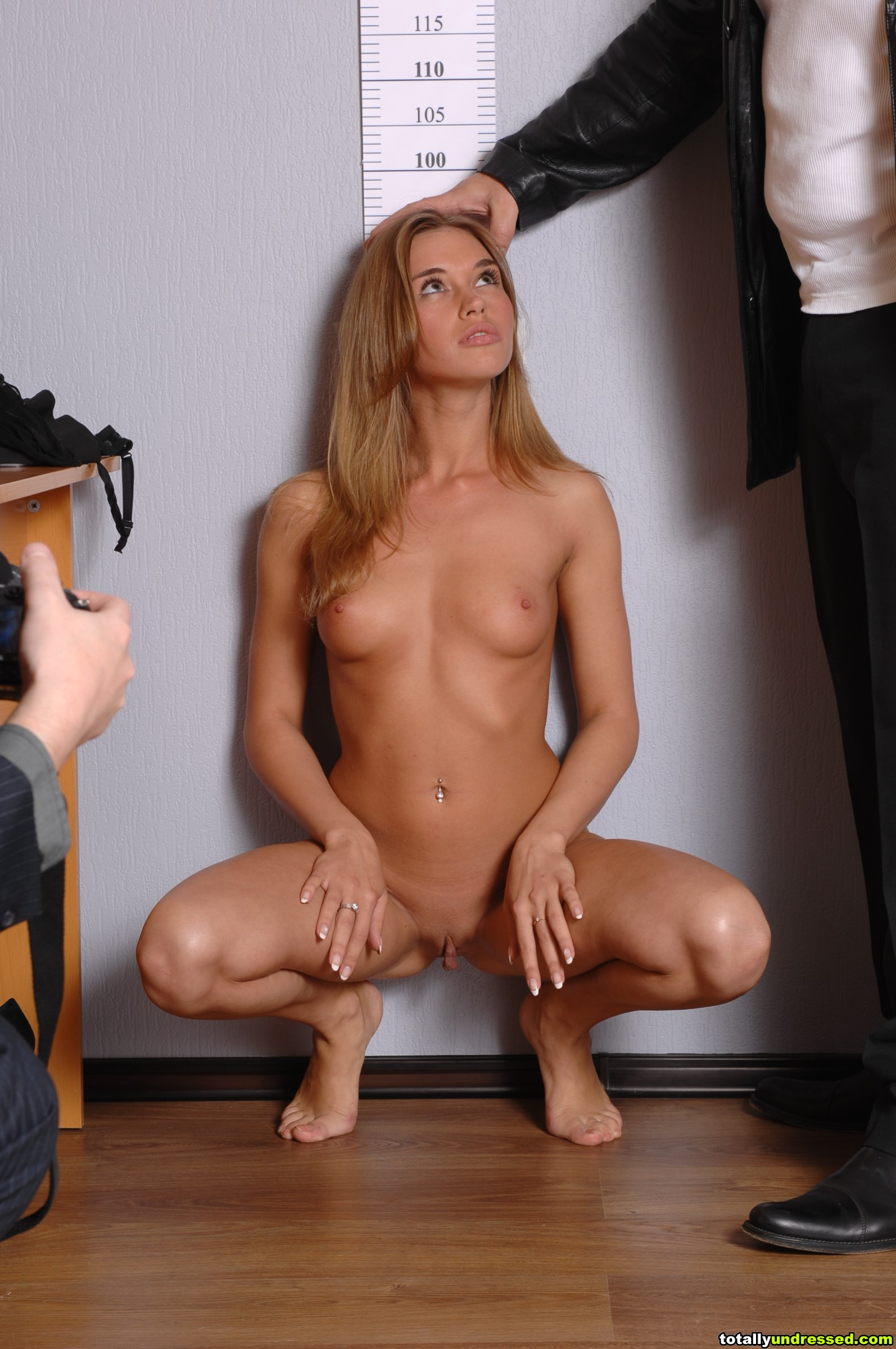 Job Interview Totally Undressed Nude